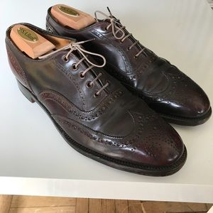 46b3dcbf147a1 Brooks Brothers Shoes - Shell Cordovan Brooks Brothers Wingtip England 10